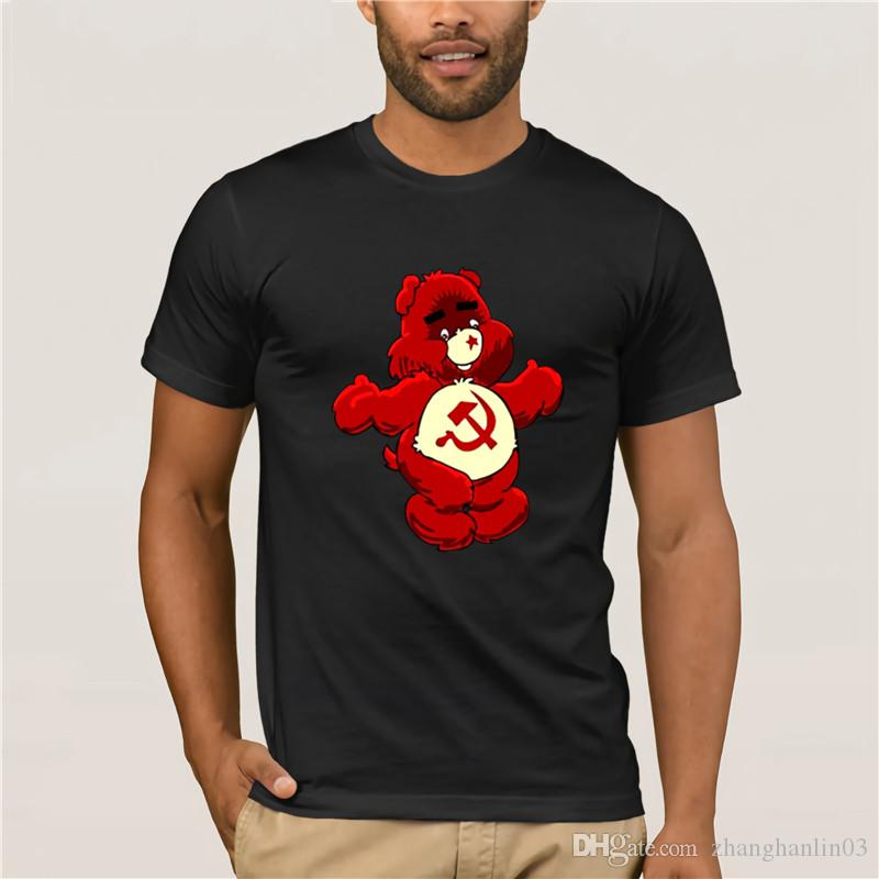 9f2a16219 New Unique CCCP Russian T Shirts Men USSR Soviet Union Man Printed Gosha T  Shirt Moscow Russia Mens Tees Cotton Ringer Tops Silly T Shirts Interesting  T ...
