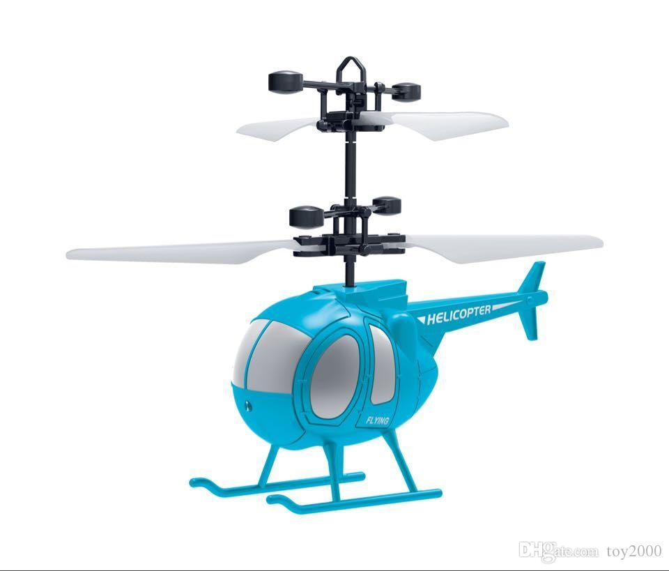 10 models RC Drone Flying copter Ball Aircraft Helicopter Led Flashing Light Up Toys Induction Electric Toy sensor Kids Children Christmas