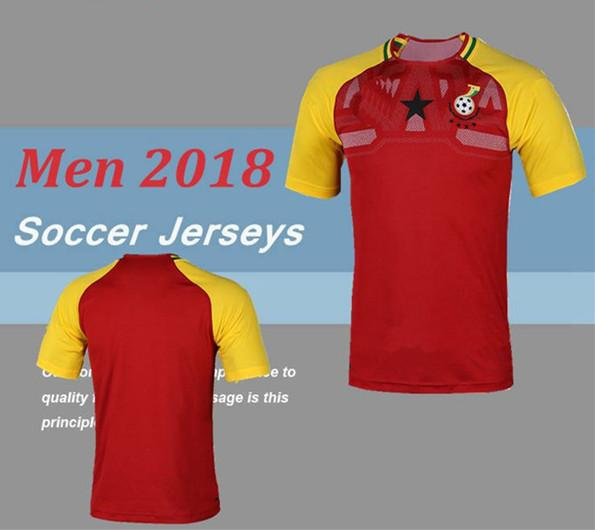 Ghana Soccer Jersey 2018 World Cup Thai Quality Custom 8 Michael Essien Football  Shirt 3 A.GYAN 10 A.Ayew 11 MUNTARI 20 Asamoah 13 J.Ayew UK 2019 From ... f60a098b9