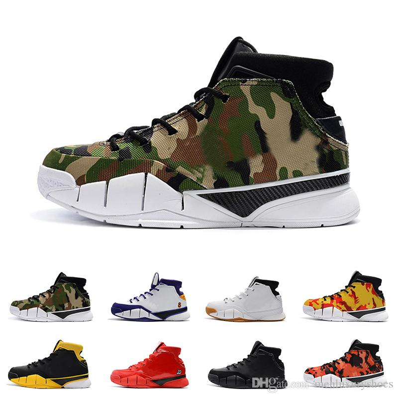 88e11fee134 With BoxTop UNDFTD X Kobe 1 Protro MPLS All Star Undefeated Camo Basketball  Shoes For Men Deep Forest AQ3635 300 Authentic Sneakers Basketball Shoe Men  ...