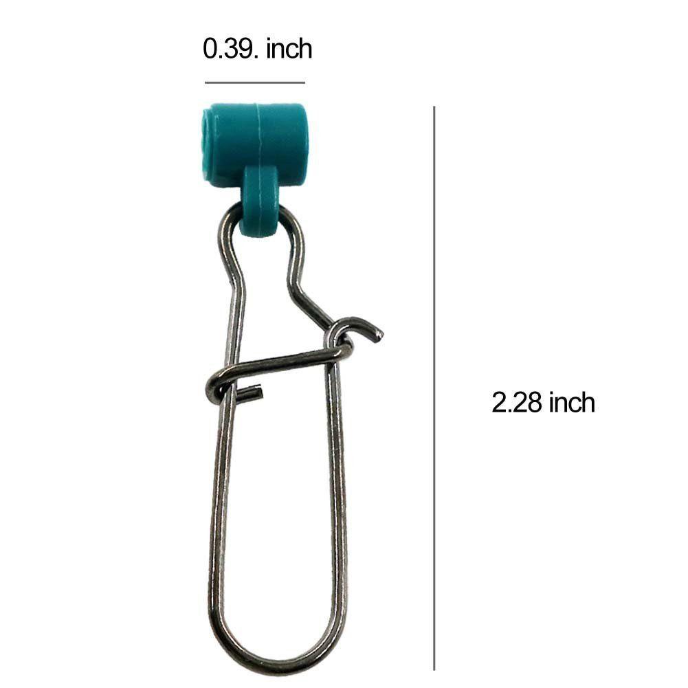 Großhandel Angelzubehör Shaddock Fishing 15-Robust Starke Platinenrutsche mit hochfesten Edelstahl-Druckknöpfen für Braid Line