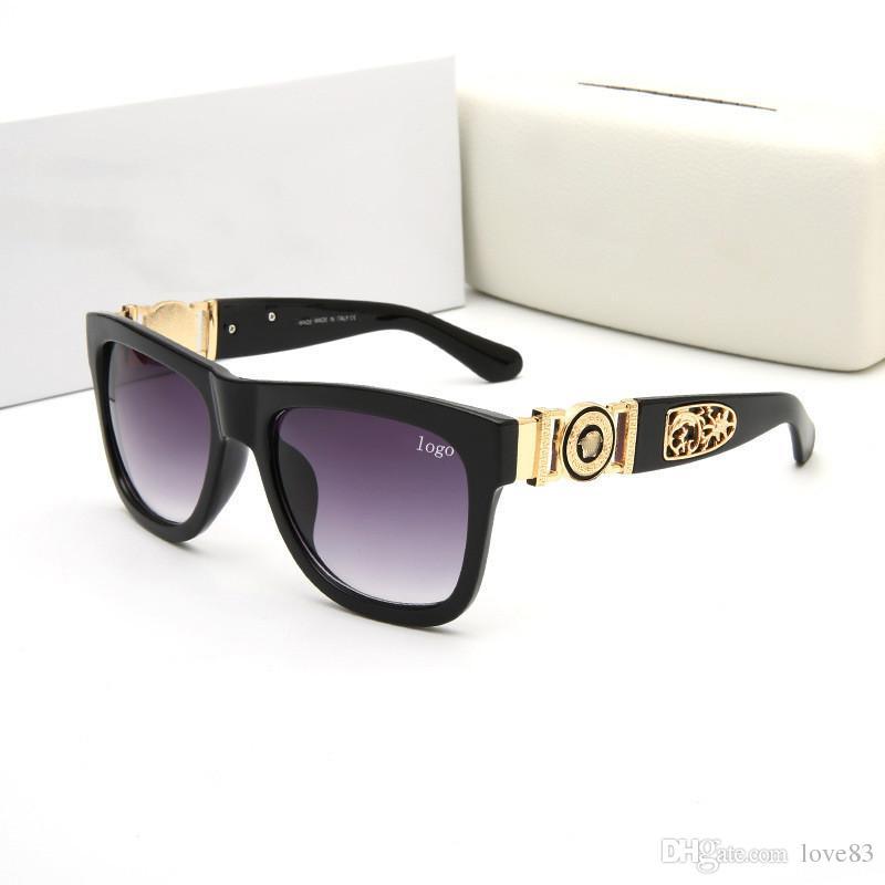 fa99e654ec Compre Venta Caliente Famosa Marca De Gafas De Sol Con Logotipo 426 Mujeres  Hombre Metal Marco Espejo Gafas De Sol De Alta Calidad Bajo Precio Gafas De  ...