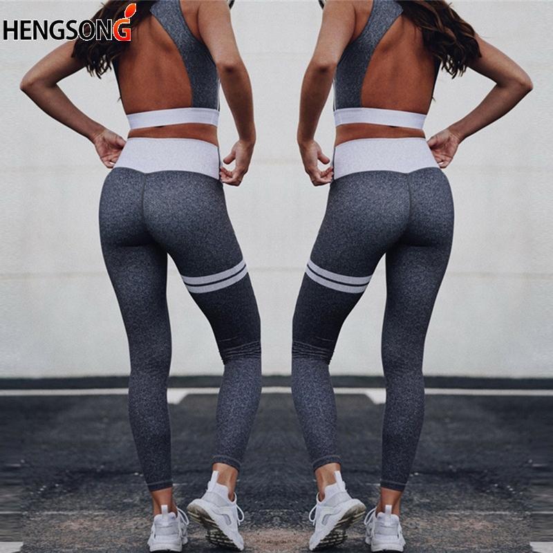 52d60e5789 Acquista Moda Casual Collant Donna Gilet E Leggings Pantaloni Ghette Senza  Cuciture Fitness Elasticità Compressione Vestiti Slim A $23.36 Dal  Zhaolinshe ...