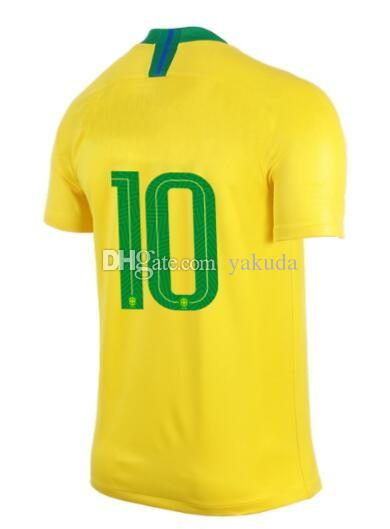 3d0c50a4e 2019 18 19 Customized Name 10# Thai Quality Soccer Jerseys Shirts  TOPS,Custom 11 P.Coutinho 9 G.Jesus 15 Paulinho Soccer Jerseys From Yakuda,  ...