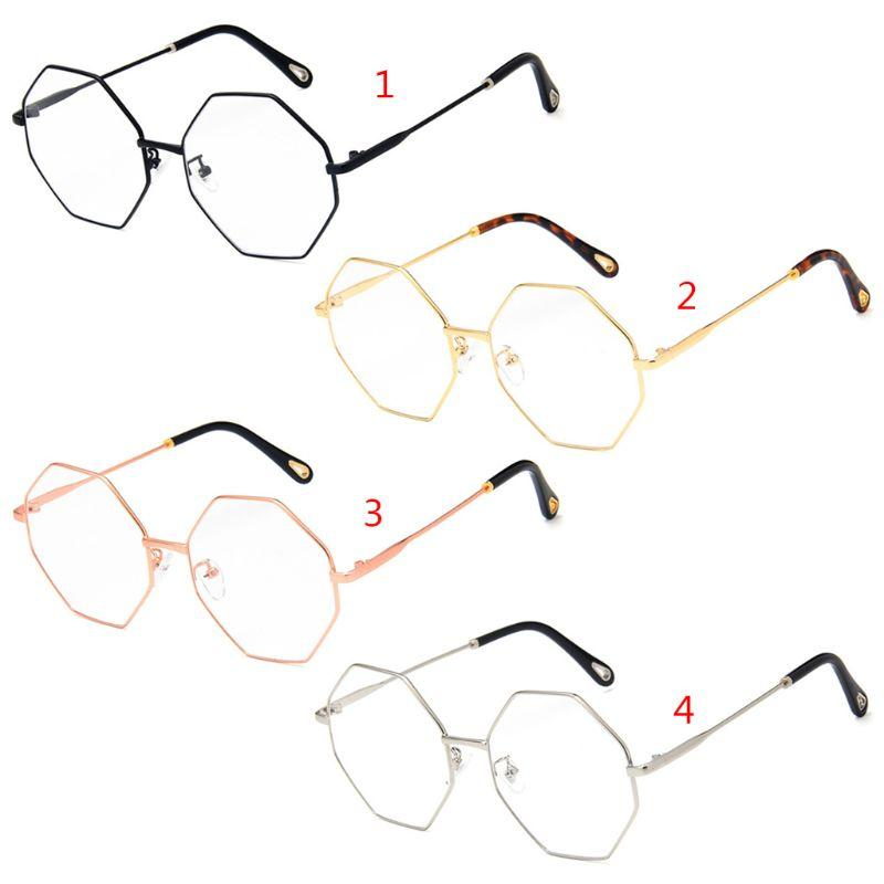 155ef86c52af Fashion Optical Glasses Geometric Myopia Frame Clear Lens Spectacle  Eyeglasses Polarised Sunglasses Baby Sunglasses From Duoyun