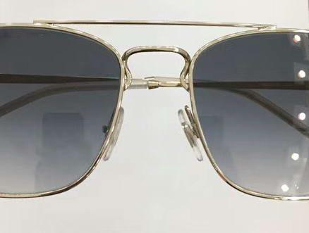 Fashion 3588 Square Sunglasses Silver/Grey Smoke 55-18-140 Designer SONNENBRILLE Sun Glasses Eyewear New with Box