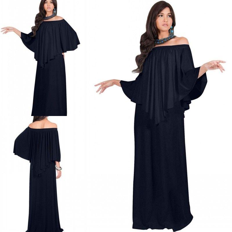 2019 Mother Of The Bride Dresses Chiffon Bateau Long Sleeve Plus Size  Mothers Party Gowns Vestidos De Fiesta