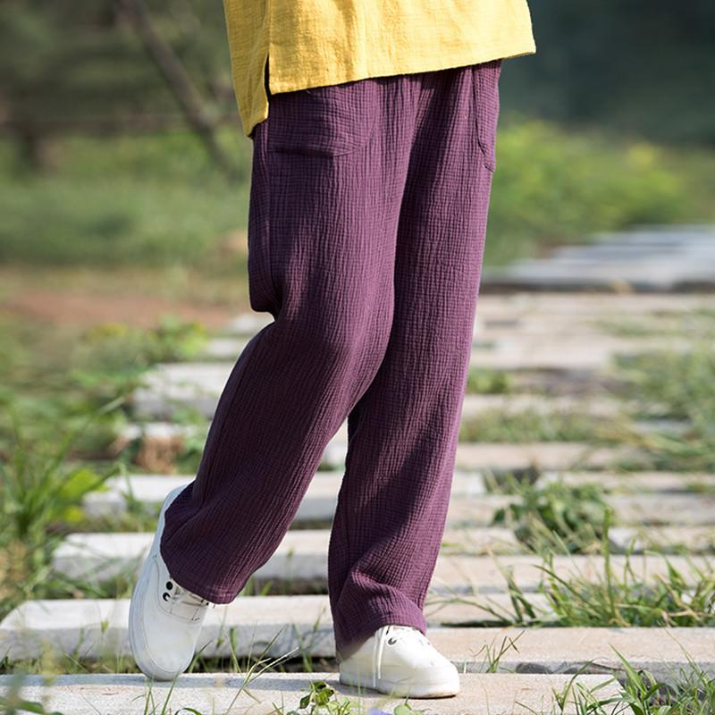 7f4b54e1135 2019 Trousers For Women 2018 Spring   Summer Women S Cotton Linen Pants  Loose Trousers Female Straigh Pants Plus Size Trousers M 6XL D18110706 From  Xiao0002 ...