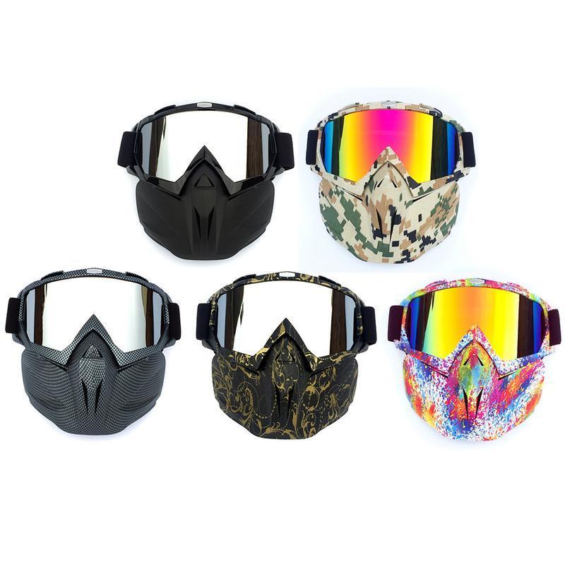 1c10231e9c Compre Gafas De Montar Retro Máscara Gafas Para Gafas De Esquí Al Aire Libre  Y Para El Esquí De Fondo De Carreras De Motos Suministros A $23.09 Del ...