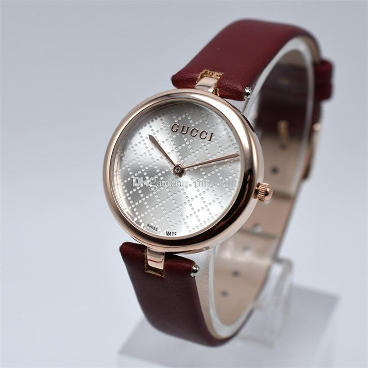 Compre Moda Reloj De Cuarzo Relojes De Las Mujeres 2018 Señoras Famosas  Marcas De Lujo Reloj De Pulsera Reloj Femenino Montre Femme Relogio  Feminino Reloj ... 79ca753f094d