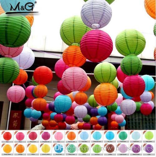 Round Chinese Paper Lantern Birthday Wedding Party Decor Gift Craft