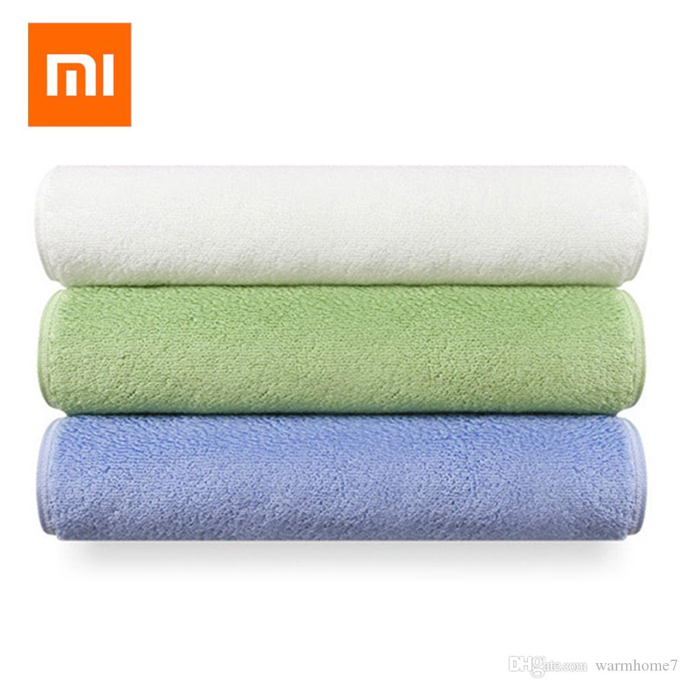 5pcs Xiaomi ZSH Square Towel Polyegiene Antibacterial Towel Oeko-Tex Standard Cotton Strong Water Absorption For Smart Home Water Absorption