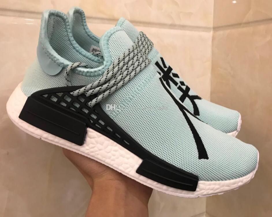 7b99d1dc759de 2019 New Human Race NMD TR Fei Dong Joint Name Human Running Shoes AC8896  Mint Green Outdoor Sports Shoes Size 36 45 From Tianzi888