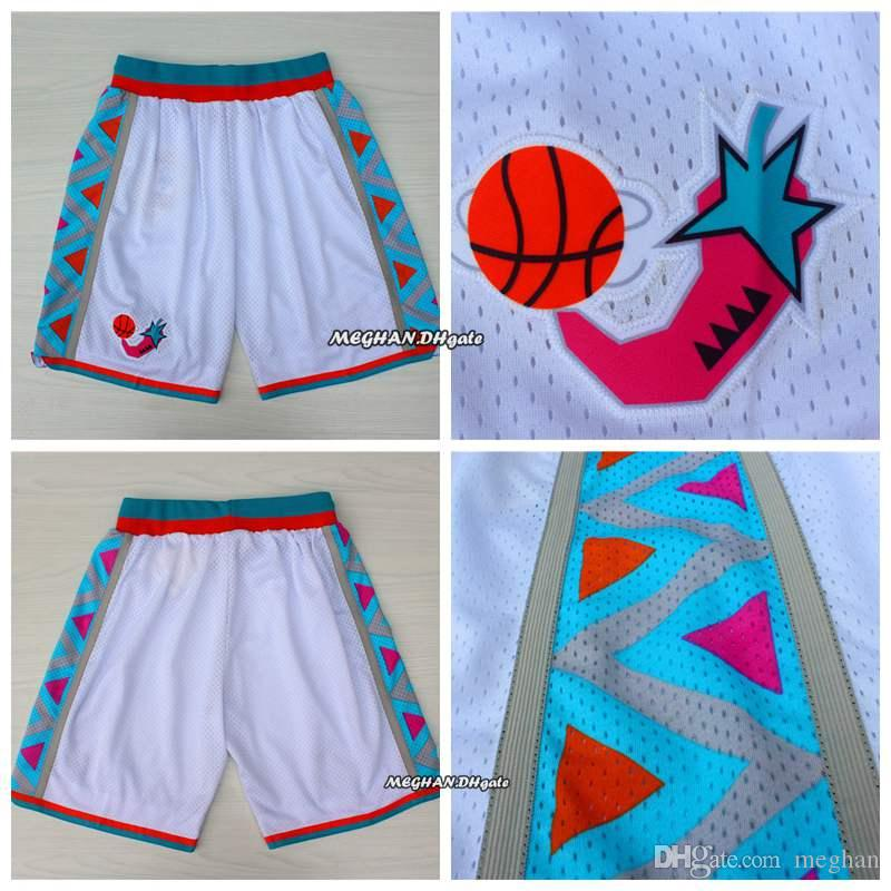 Hot Sale 1996 All Star Basketball Short Trousers Team Breathable ... 248596c14