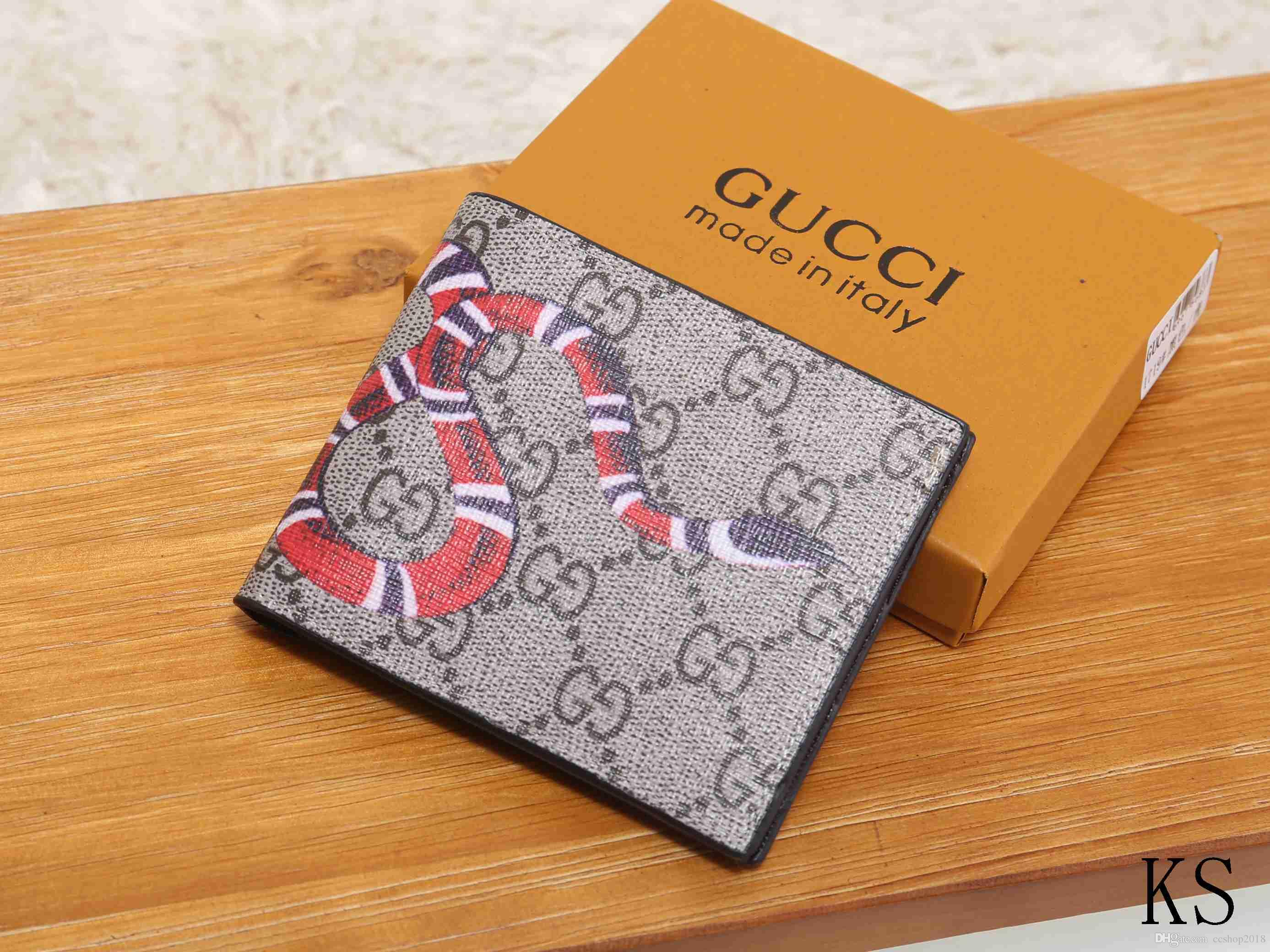 f68345d54bf Brand Men Short G Wallet Classic Fashion Male Patchwork Purse With ...