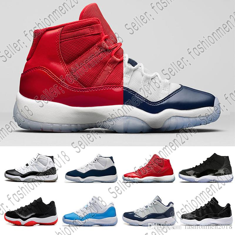 ded50fda310 2018 Legend Blue 11 11s Basketball Shoes Prom Night Gamma Blue Concord 45  Heiress Win Like 82 96 Bred Mens Women Trainer Sports Sneakers From  Fashionmen2018 ...