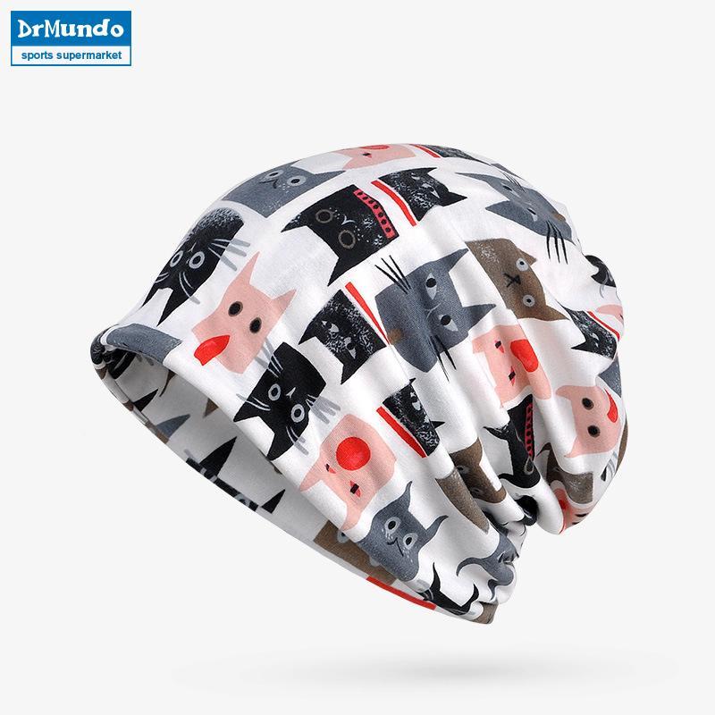 5a91cdeadd9 2019 Men Ski Face White Mask Winter Fleece Beanie Hats Warm Print Velvet  Outdoor Cycling Snow Bibs Cap Women Bonnet Hat Mask Scarf From Wavewind