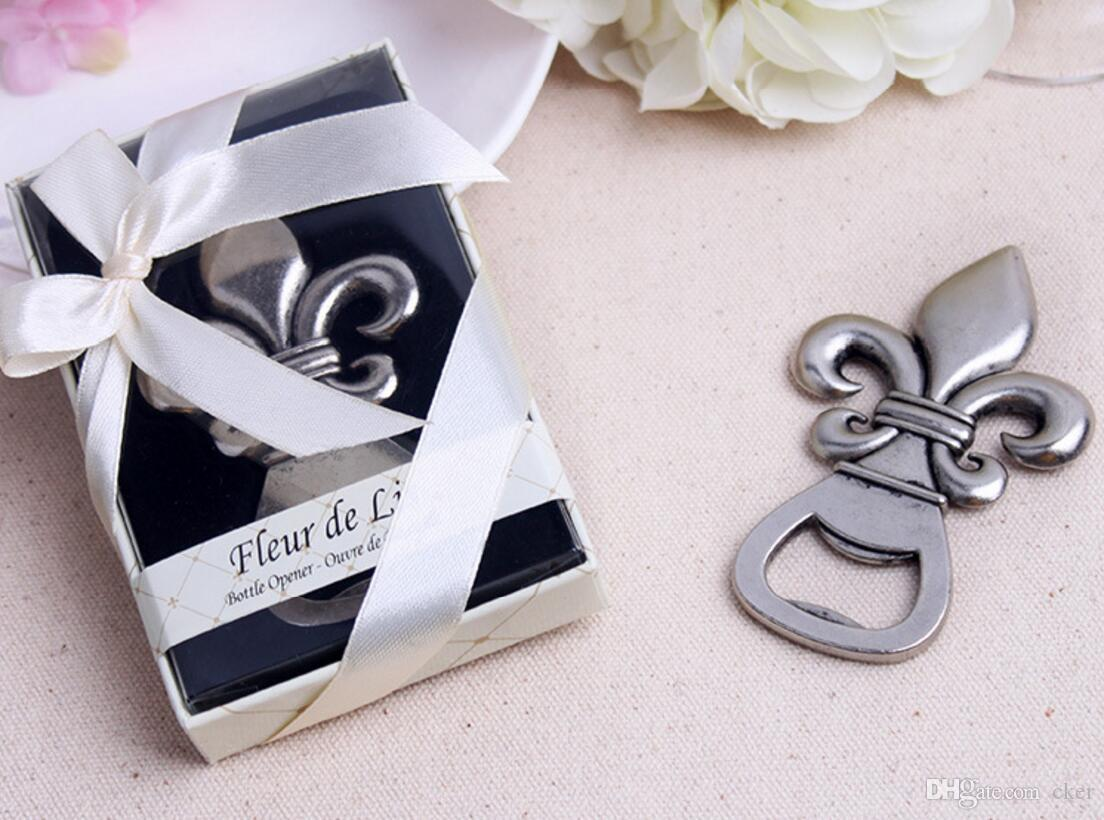 2018 Lastest Fashion New Alloy Metal Fleur De Lis Beer Bottle Opener ...