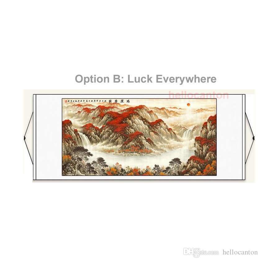 Satın Al Ev Dekorasyonu Için Feng Shui Boyama çin Resimleri Yatak