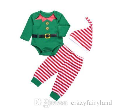 cf2307895d17 2019 Baby Christmas Outfits Baby Clothes Set Christmas Kids Baby ...