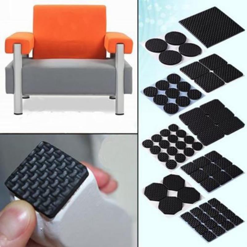 2018 Hot Adhesive Rubber Furniture Feet Floor Protector Pads Anti Skid  Scratch Diy Resistant Mats Table Legs Stools Chairs Protection From  Hariold, ...