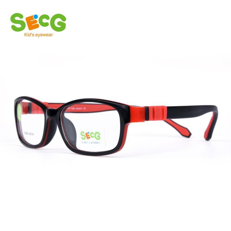 96316515ad Compre SECG Ultraligero Flexible Suave Niños Marco Niños Gafas De Montura  De Gafas Ópticas Para La Vista Gafas Lunettes De Vue Enfant A $35.93 Del  Ancient88 ...