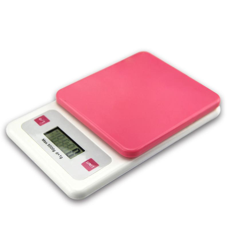 Online Cheap Pink Colour 5kg 5000g 1g Digital Kitchen Food Diet Postal Scale  Balance Weight Weighting Led Electronic Mini Home Scales By Homnumberone ...