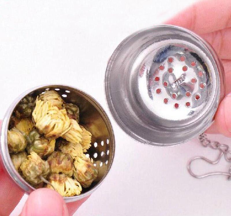 Sfere aromatizzate calde genuini dell'acciaio inossidabile / sacchetti filtro / Sfere del tè / Gadget da cucina / Colini Colini Sfera del filtro del tè