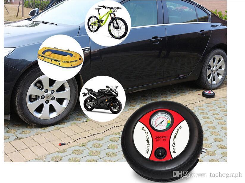 Type pompe de gonflage des pneus de véhicule automobile léger cigarette multifonctionnel pneumatique pompe à air haute pression pompe de véhicule électrique