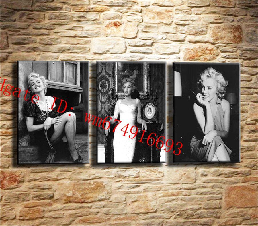 Compre Marilyn Monroe 2, 3 Piezas De Decoración Para El Hogar Hd ...