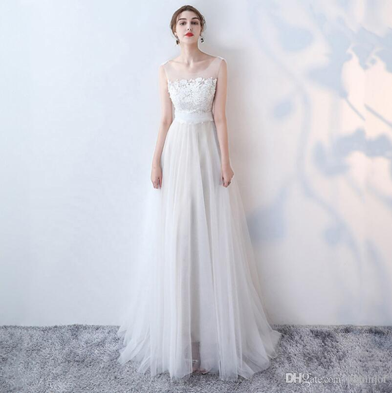 Discount Women S Mermaid Wedding Dresses For Bride 2018 Sexy Open Back Lace  Beach Wedding Dresses White And Ivory Cheap Wedding Gown Designer Lace  Wedding ... 9ac6971d9e