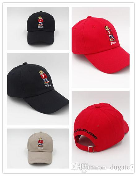 Wholesale Hot Fashion Hot Newest Cheap Wholesale Upsoar Hat Red Hat  Authentic Polos Bear Dad Baseball Cap Kanye West Drake Cap Casquette Baby  Cap ... ff7c40a0e0b