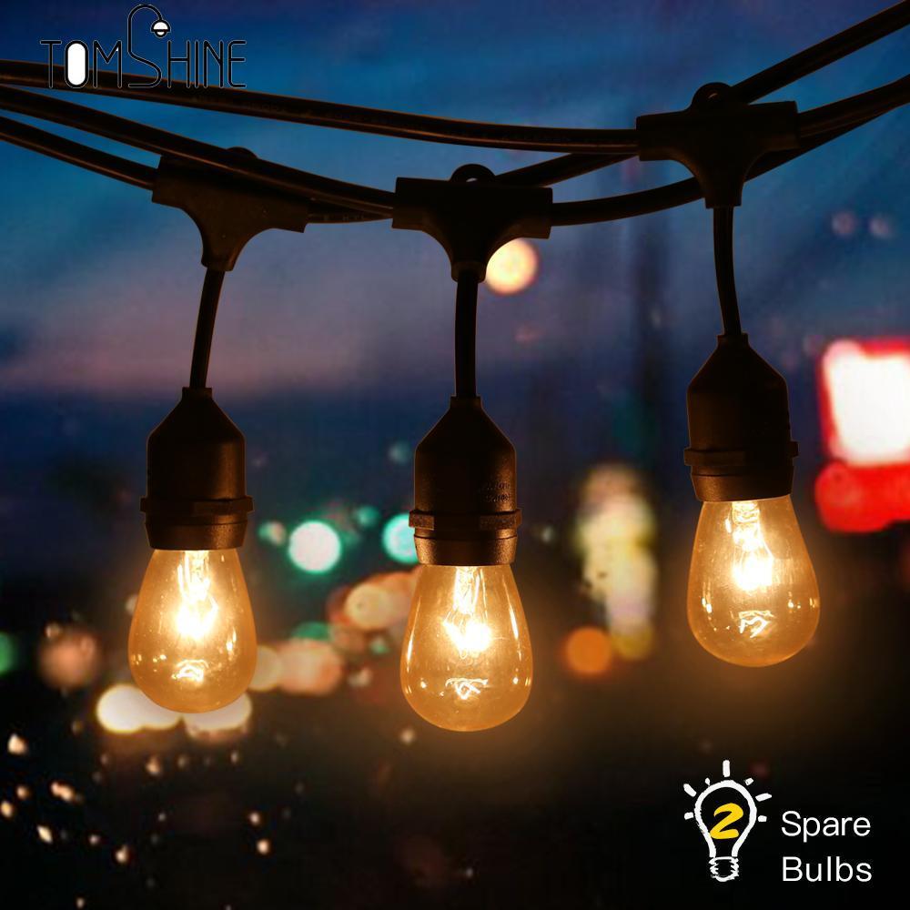 00e2db3335 Compre Novidade 15 LED E27 REINO UNIDO Plugue 2 Lâmpadas De Reposição Bola  Lâmpadas De Corda Levou Luzes De Natal Fada Guirlanda Pingente De Jardim De  ...