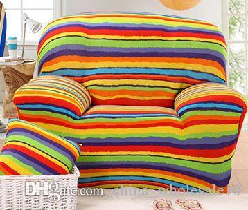 Amazing Elastic Sofa Cover Tight Wrap All Inclusive I Shaped Sofa Cover Sofa Slipcover Cheap Stretch Furniture Covers 1 2 3 4 Seater 1Pc Wholesale Download Free Architecture Designs Viewormadebymaigaardcom