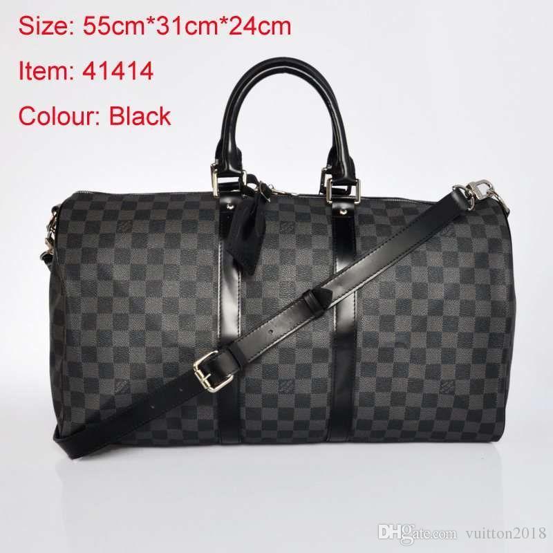a68a81121113 Hot Luxury Brand Men Women Travel Bag PU Leather Duffle Bag Brand Designer  Luggage Handbags Large Capacity Sports Bag Duffle Garment Bags From  Kuailaigouwu