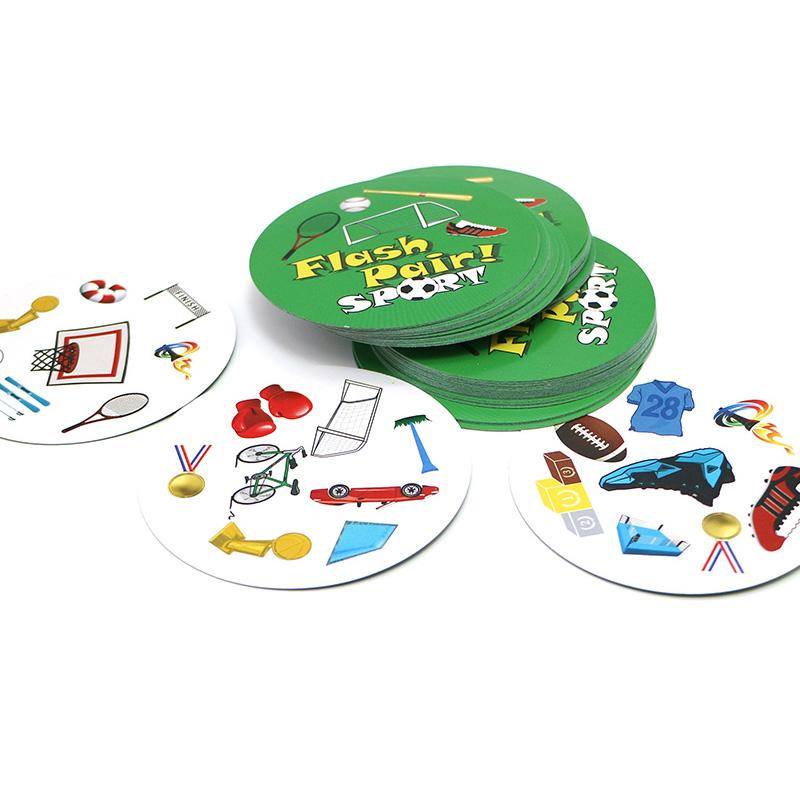 2018 hot Flash Pair sport board game football Golf family play for ages 5+ spot to sports love it friend gift cards game