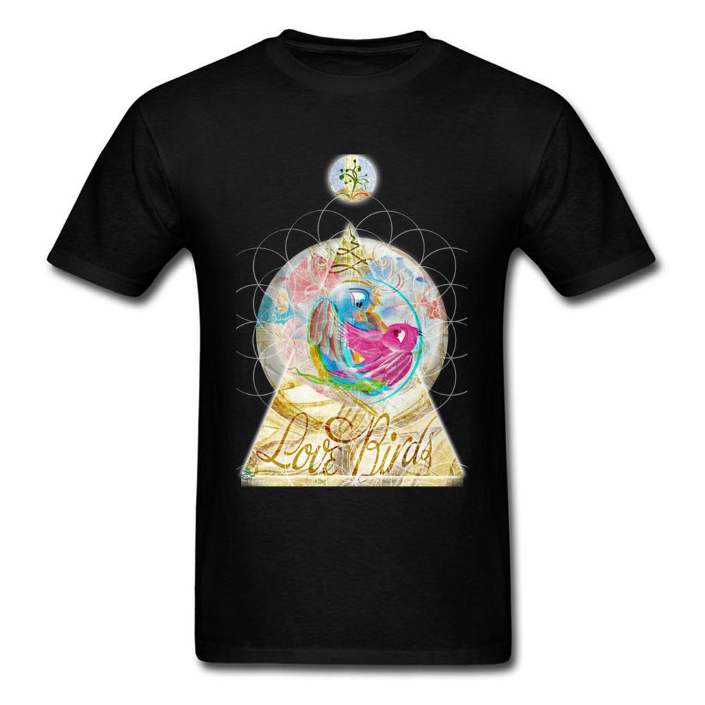 Grosshandel Liebes Vogel 2018 Freund Schwarzes T Shirt Manner