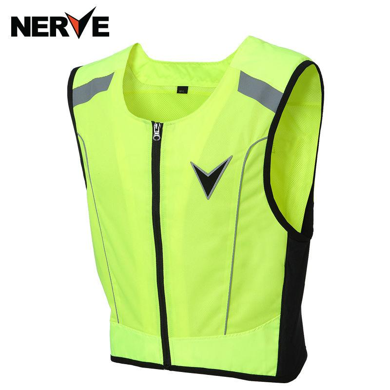 ef1e139d1ea 2019 NERVE Riding Tribe Reflective Desgin Waistcoat Clothing Motocross Off  Road Racing Vest Motorcycle Touring Night Riding Jacket From Atuomoto