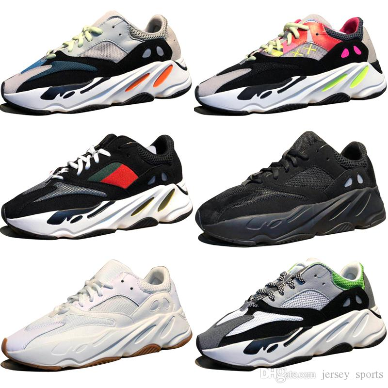 20cd2b02687cb 2019 High Quality Kanye West Wave Runner 700 Boots Grey Running Shoes For  Men 700s Womens Mens Sports Sneakers Trainers Outdoor Designer Shoes From  ...