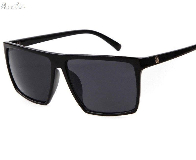 a2798f243d1d1 Compre Gafas De Sol Cuadradas Hombres Diseñador De La Marca Espejo Gafas De  Sol De Gran Tamaño Photochromic Gafas De Sol Hombre Para Hombre Plaza A   34.17 ...