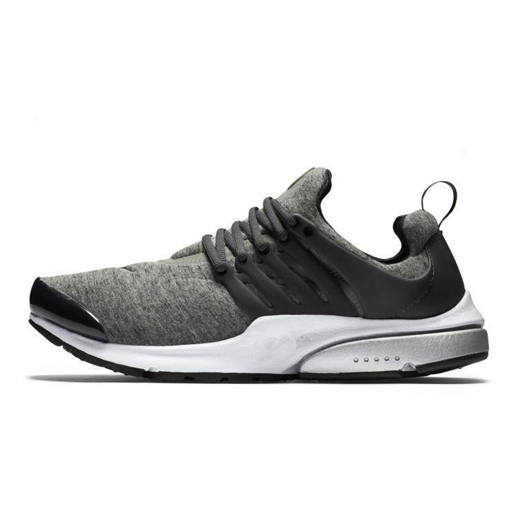 86973922b08c 2016 Air Presto TP QS Tech Fleece Black And Grey 812307 002 Walking Shoes  Flat Shoes Creepers Sock Dart PU Sole Runner Casual Shoes Naot Shoes High  Heel ...