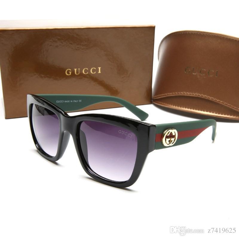 Compre Marca De Luxo Óculos De Sol Redondos Das Mulheres Dos Homens Óculos  De Sol Prescrição 2018 Bloco Sunrays Proteção Uv400 De Z7419625, ... eb72e9c5a8