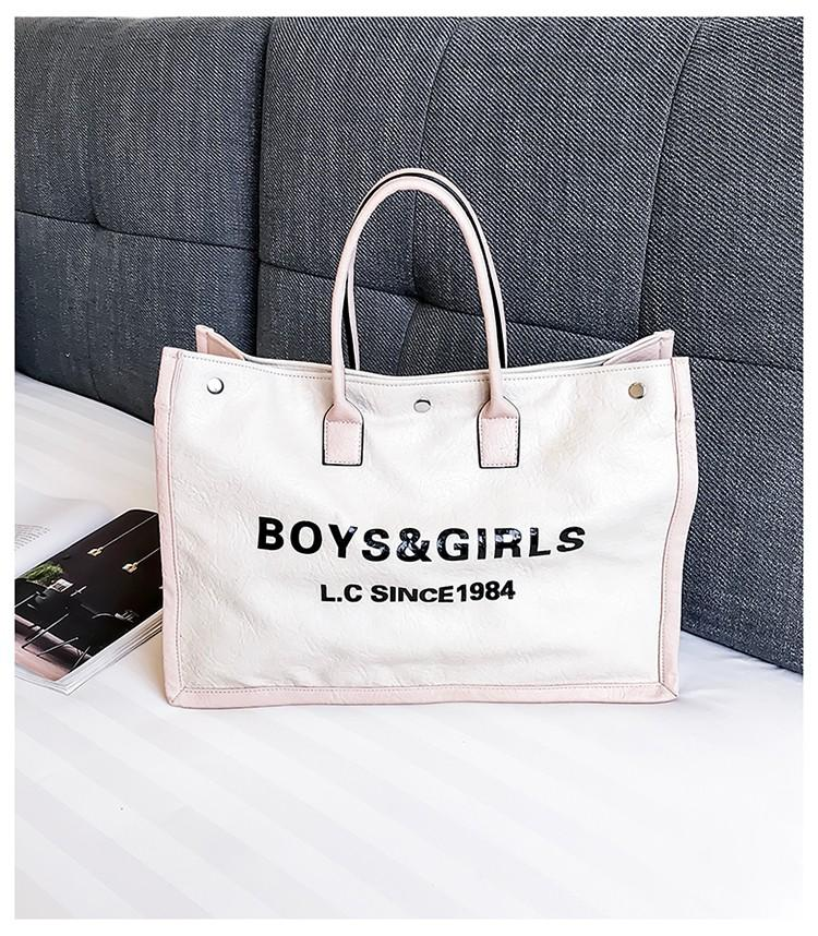 2018 Fashion Women Handbags Large Capacity Ladies Top Handle Bags PU ... ab15e1a07d667