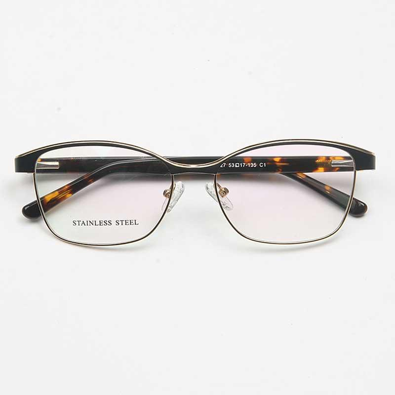 7bb1d3291dc YOUTOP Men s Stainless Steel High Quality Eyeglasses Fashion Optical ...