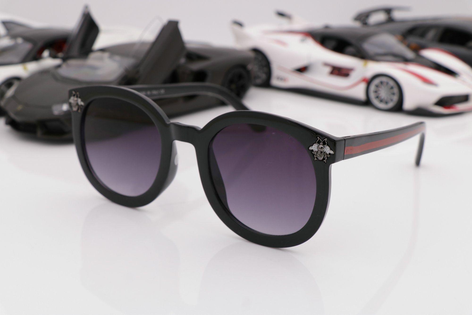 1d1732949eec Fashion Style Women  S Men Designer Sunglasses 10231 Pilot Classic Vintage  Frame UV400 Top Quality Protection Eyewear With Original BOX Foster Grant  ...