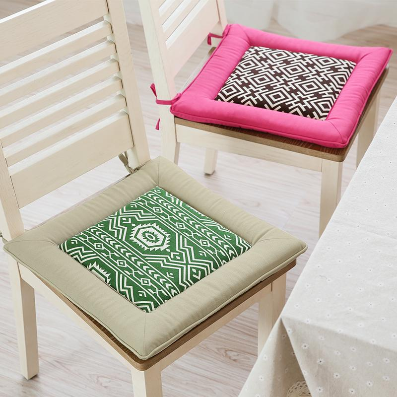 Four Seasons Office Chair Seat Cushion Square Anti Slip Seat Mat Buttocks  Sitting Pad Home Decor Kitchen Chair Cushion Discount Patio Cushions  Replacement ...