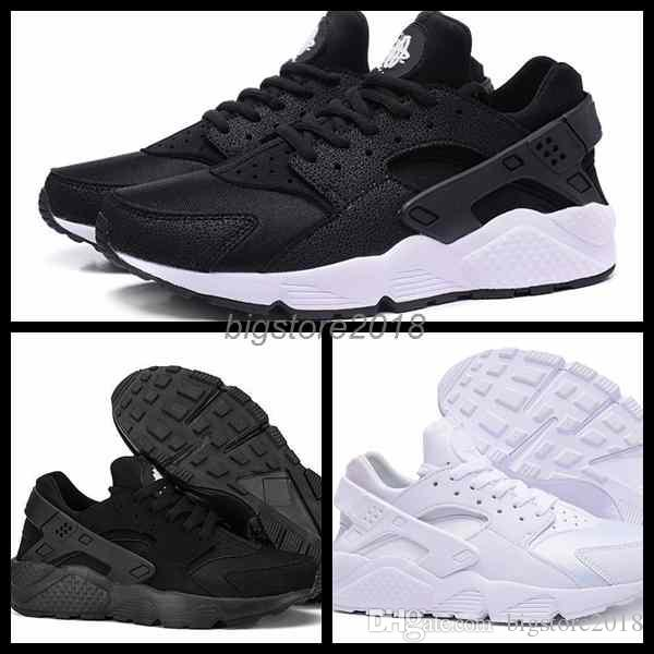 Fashion sports shoes 2018 New Air Huarache I Running Shoes For woman Sneakers Triple Huaraches 1 Trainers huraches Sports Shoes finishline for sale free shipping cheap online sale best store to get t8dArf