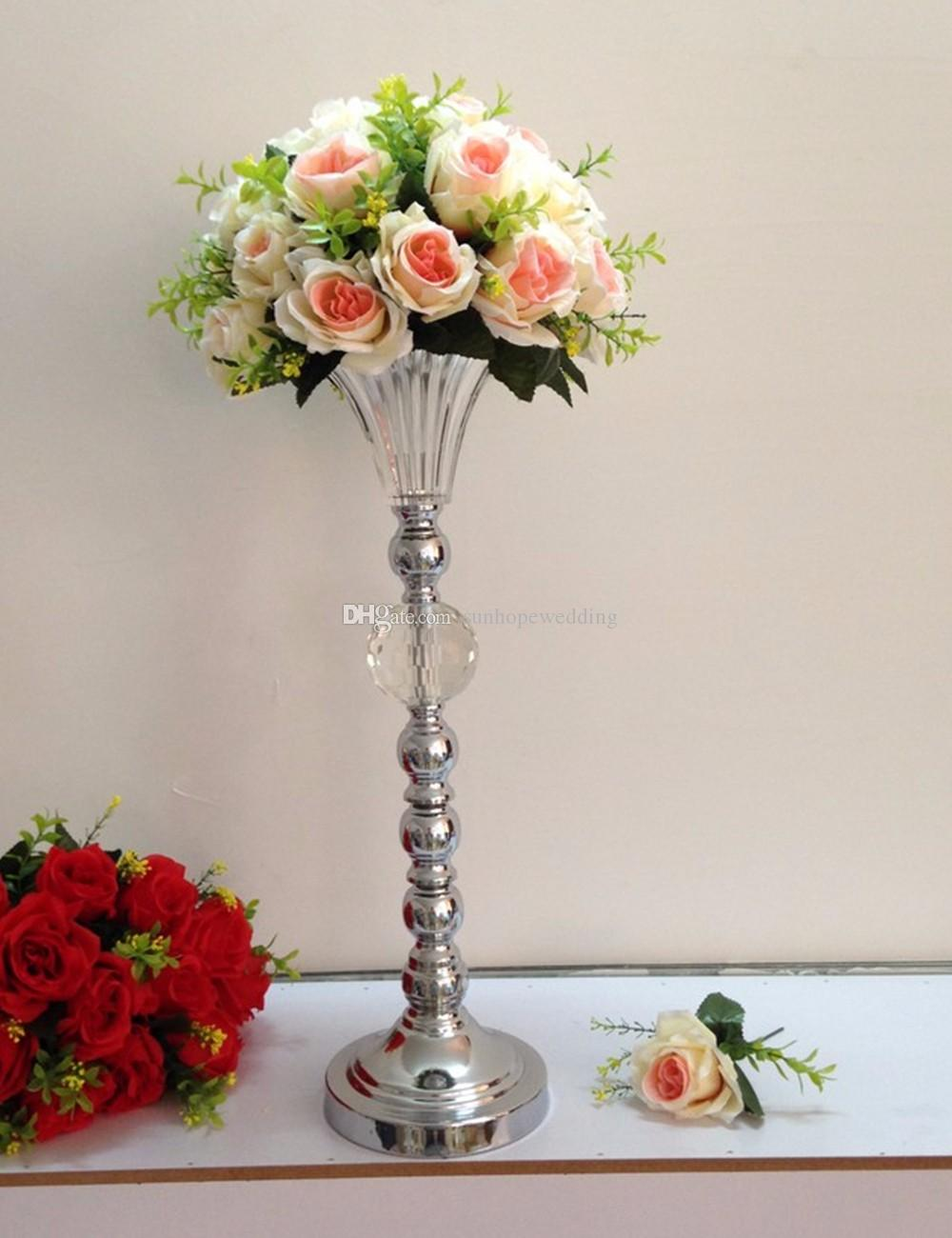 new item wedding metal flower walkway lead stand wedding aisle decoration