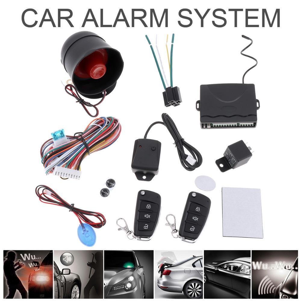 Alarm Universal 12v Auto Car Security Keyless Entry Central Multitone Siren Circuit Diagram Door Locking System With Remote Control Sensor