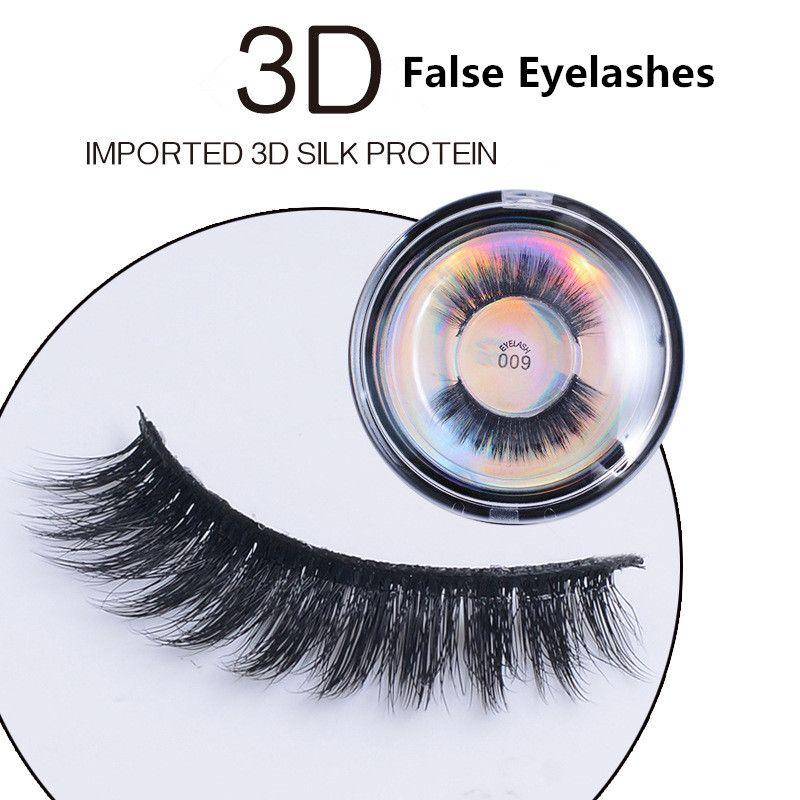3d الاصطناعية الشعر الرموش الصناعية 5 أنماط اليدوية الجمال مدبب جلدة وهمية رموش رمش مثير 001-009